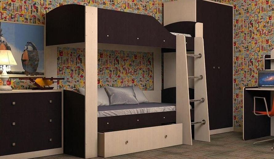 Двухъярусная кровать Барон-2 (Фиеста Эко)
