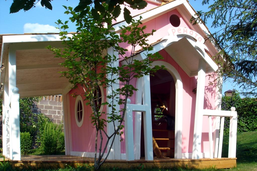 Двухэтажный домик принцессы KidsCrookedHouse (KidsCrookedHouse)