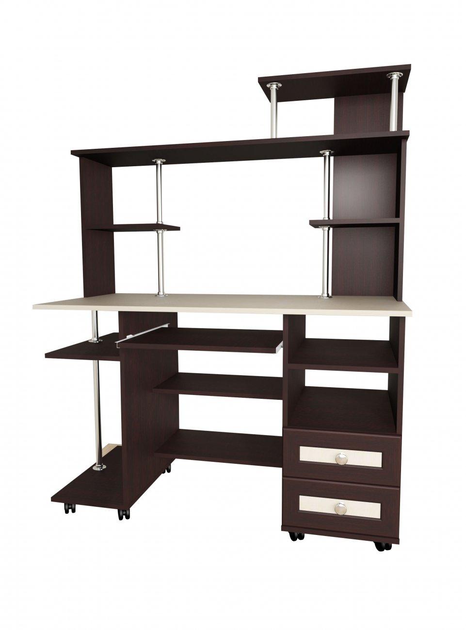 """Компьютерный стол мебелайн """"мебелайн - 24"""" - купить в москве."""