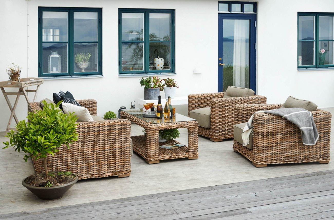 Комплект плетеной мебели Eddo (Brafab)