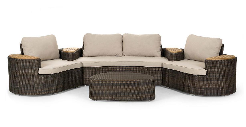 Комплект плетеной мебели WOW (Brafab)
