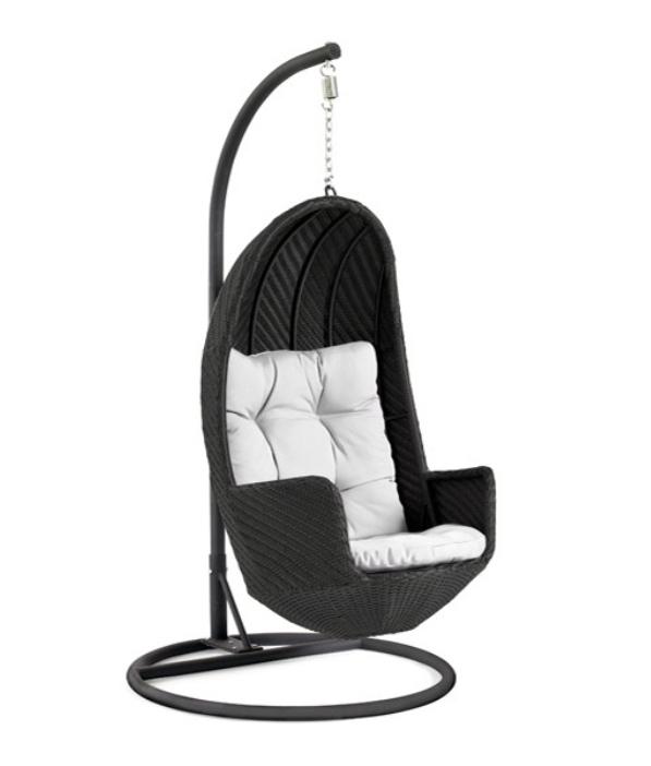 Подвесное кресло из ротанга Sunshine (Brafab)