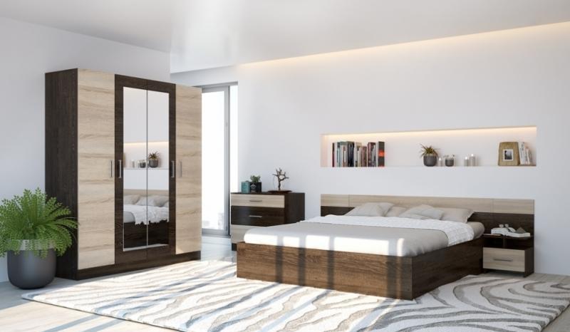 Модульная спальня Уют (Горизонт)