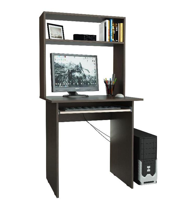 Компьютерный стол Милан-2 с надставкой (МФ Мастер)