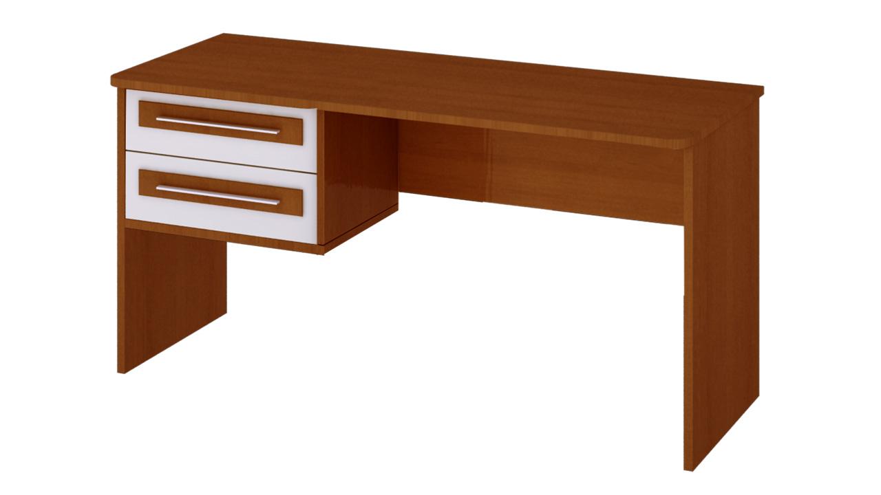 Стол письменный с 2-ящиками (ТриЯ)
