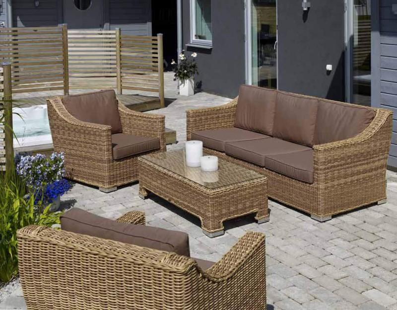 все цены на Комплект плетеной мебели Roxina в интернете