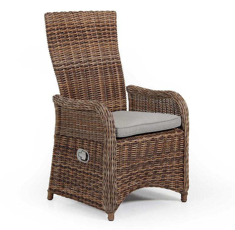 Плетеное кресло San Diego mix позиционное Brafab