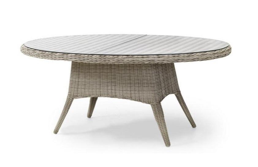 Плетеный стол San Diego beige Brafab