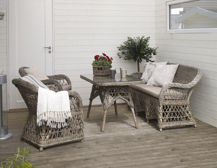 Комплект плетеной мебели Sanna