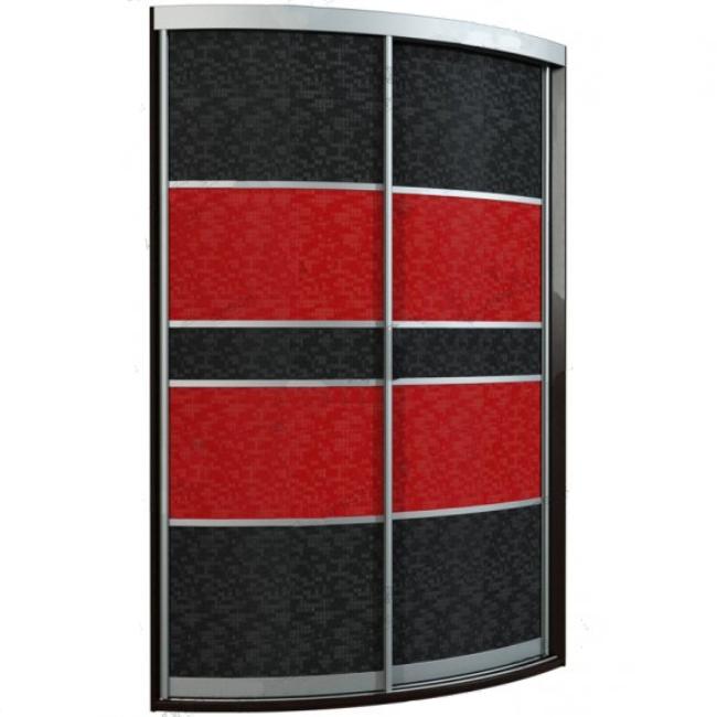 Угловой радиусный шкаф-купе Севилья 2-2 радиусный шкаф купе мебелайн 7