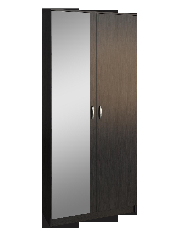 Шкаф 2-х дверный с зеркалом Ольга шкаф 4 х дверный с зеркалом ребекка