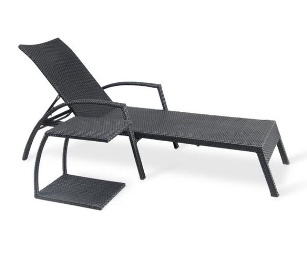 Шезлонг-лежак со столом A30 AT30A Афина Мебель