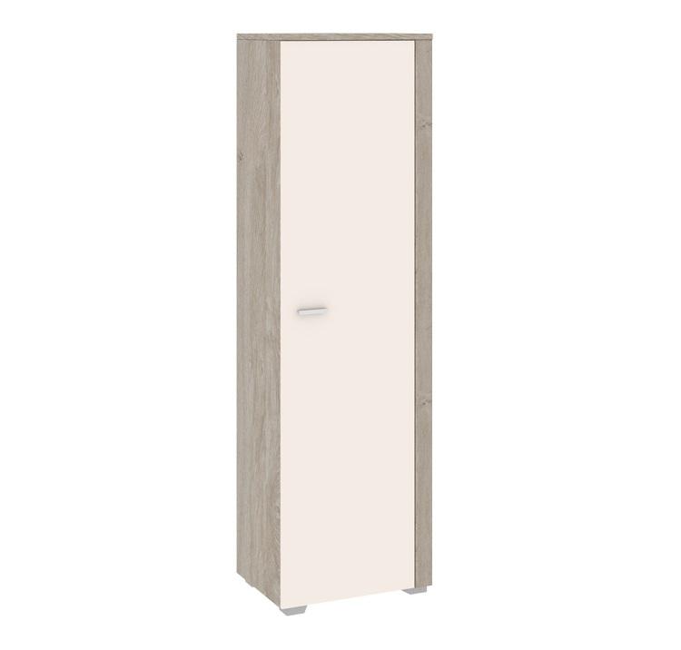 Шкаф для белья ЭйваШкафы<br>Размер: 594х2014х432<br><br>Артикул: ТД-195.02<br>Материалы: Каркас - ЛДСП, фасад - ЛДСП, эмаль<br>Полный размер (ДхВхГ): 594х2014х432<br>Вес товара (кг): 44<br>Цвет: Фон бежевый/Дуб верцаска<br>Примечание: Доставляется в разобранном виде<br>Изготовление и доставка: Склад до 5 дней, под заказ 2-3 недели<br>Условия доставки: Бесплатная по Москве до подъезда<br>Условие оплаты: Оплата наличными при получении товара<br>Доставка по МО (за пределами МКАД): 35 руб./км. Доставка за МКАД, за пределы трассы А-107 (ММК)<br>Доставка в пределах ТТК: +1000 руб. Доставка в центр Москвы осуществляется ночью, с 22.00 до 7.00 утра<br>Подъем на грузовом лифте: 4% от стоимости изделия<br>Подъем без лифта: 2% от стоимости изделия за 1 этаж<br>Сборка: 10% от стоимости изделия, но не менее 1000 руб. Выезд сборщика за МКАД+500 руб.<br>Гарантия: 18 месяцев<br>Производство: Россия<br>Производитель: ТриЯ
