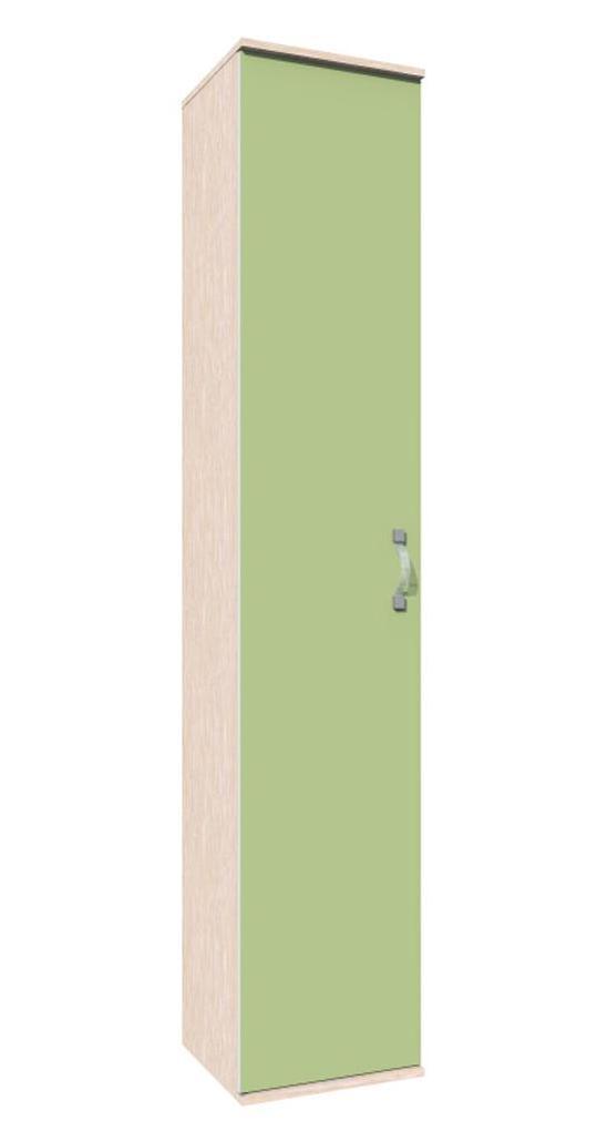 Шкаф пенал Модерн НМ 009.09Детские стеллажи и навесные полки<br>Размер: 402х2100х394<br><br>Материалы: ЛДСП, кромка ПВХ<br>Полный размер (ДхВхГ): 402х2100х394<br>Вес товара (кг): 38,9<br>Цвет: Дуб молочный/Модерн/Зеленый, Дуб молочный/Модерн/Ирис, Дуб молочный/Модерн/Лаванда<br>Изготовление и доставка: 14-16 дней<br>Количество упаковок: 2 шт.<br>Условия доставки: Бесплатная по Москве до подъезда<br>Условие оплаты: Оплата наличными при получении товара<br>Доставка по МО (за пределами МКАД): 30 руб./км<br>Доставка в пределах ТТК: Доставка в центр Москвы осуществляется ночью, с 22.00 до 6.00 утра<br>Подъем на грузовом лифте: 500 руб.<br>Подъем без лифта: 250 руб./этаж включая первый<br>Сборка: 1000 руб.<br>Гарантия: 12 месяцев<br>Производство: Россия, г. Нижний Новгород<br>Производитель: Сильва
