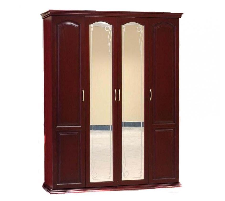 Шкаф распашной (Филенчатый) 4 створки шкаф распашной рио 4 4
