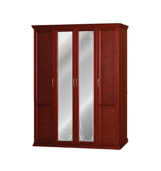 Шкаф распашной (Плетение) 4 створки шкаф распашной рио 4 4
