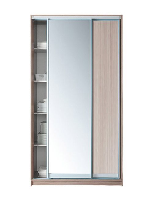 Шкаф-купе 2-х дверный Модерн с зеркалом