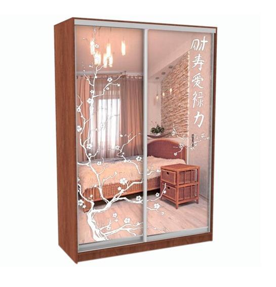 Шкаф-купе Грос-14 радиусный шкаф купе мебелайн 7