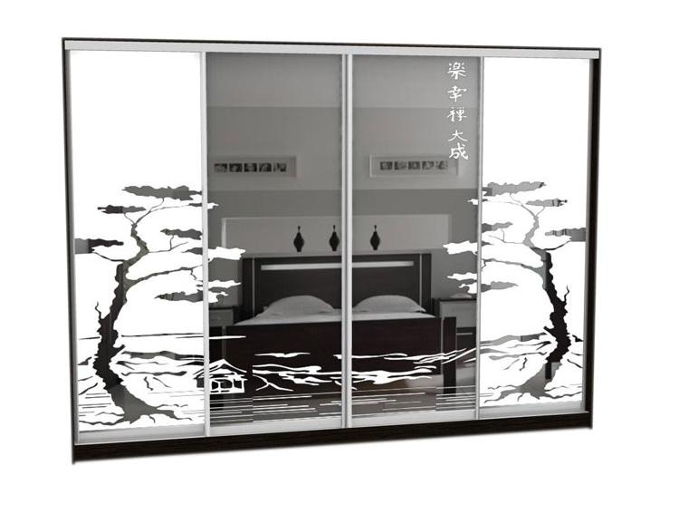 Шкаф-купе Грос-25 радиусный шкаф купе мебелайн 7