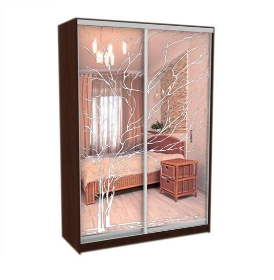 Шкаф-купе Грос-27 радиусный шкаф купе мебелайн 7