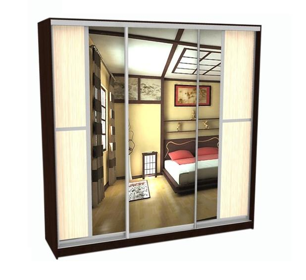 Шкаф-купе Грос-32 радиусный шкаф купе мебелайн 7