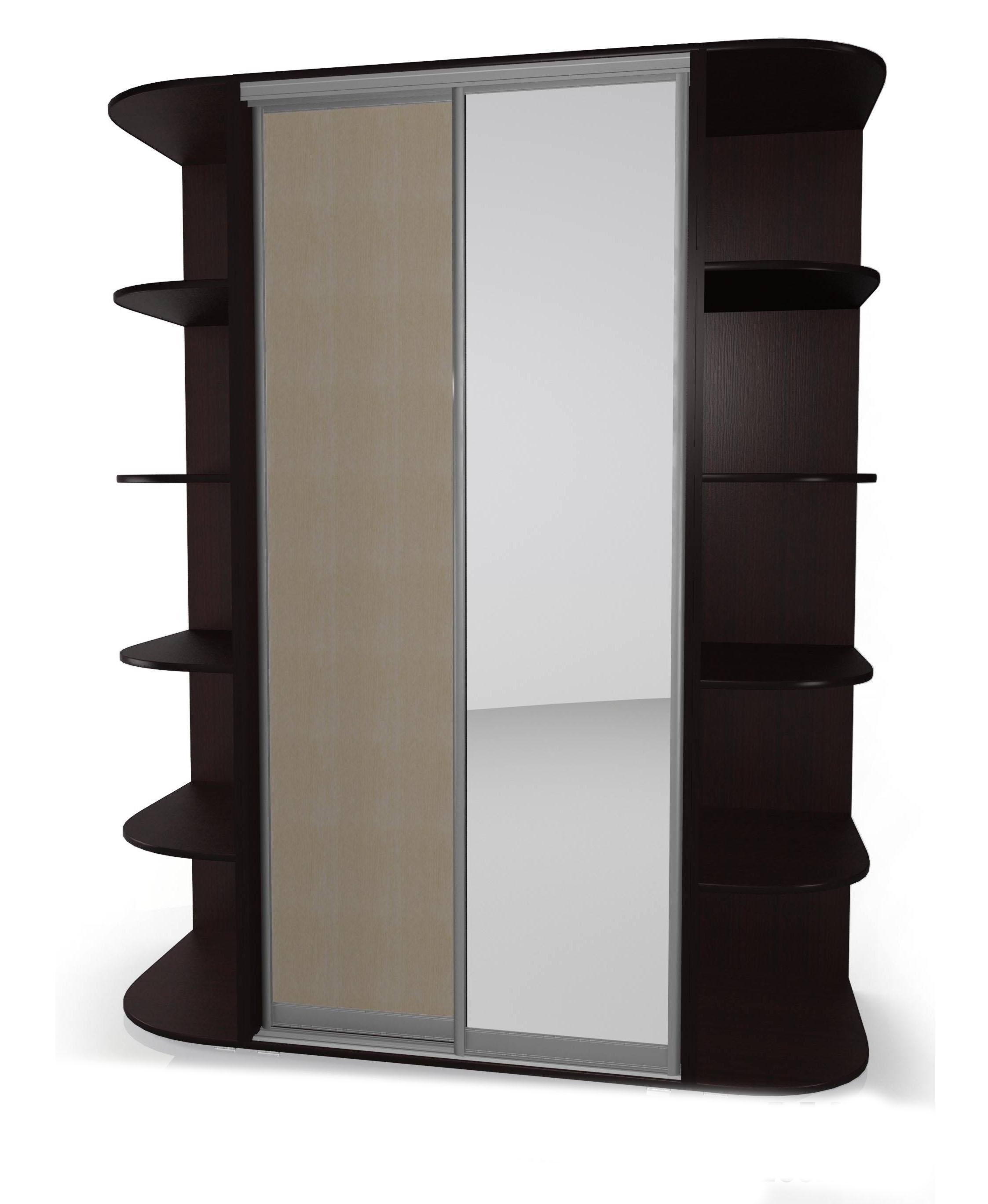 Шкаф-купе Мебелайн-11 радиусный шкаф купе мебелайн 7