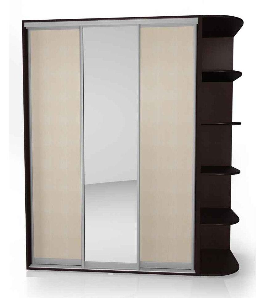 Шкаф-купе Мебелайн-12 радиусный шкаф купе мебелайн 7