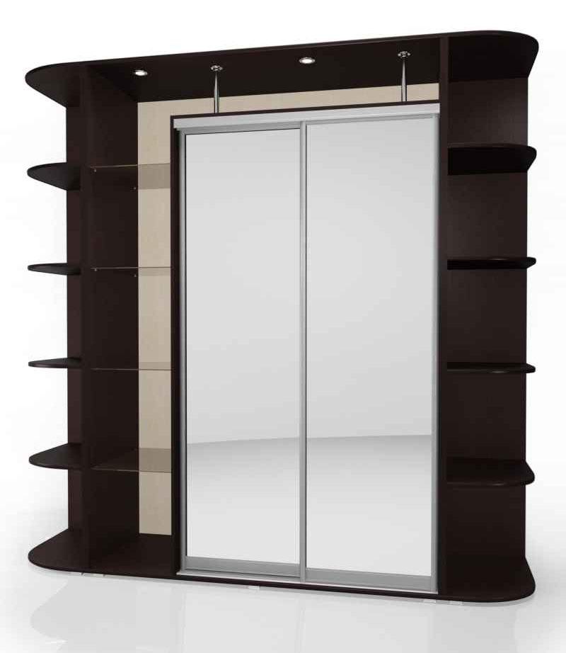 Шкаф-купе Мебелайн-17 радиусный шкаф купе мебелайн 7