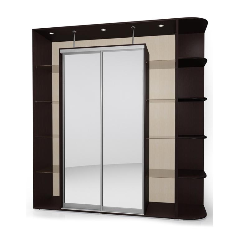 Шкаф-купе Мебелайн-18 библиотека мебелайн 4
