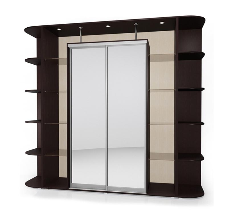 Шкаф-купе Мебелайн-19 радиусный шкаф купе мебелайн 7