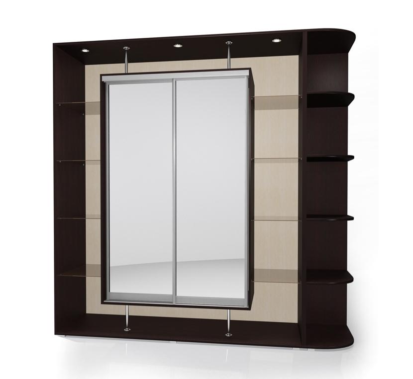 Шкаф-купе Мебелайн-20 радиусный шкаф купе мебелайн 7
