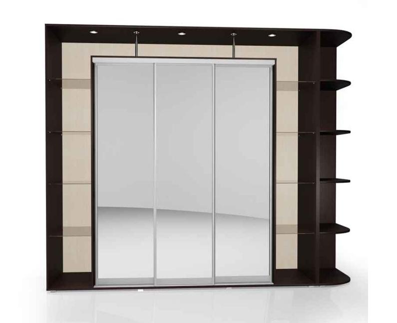 Шкаф-купе Мебелайн-24 библиотека мебелайн 4