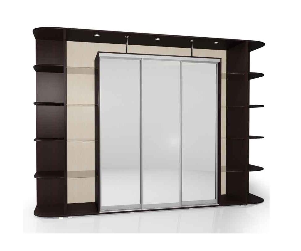 Шкаф-купе Мебелайн-25 радиусный шкаф купе мебелайн 7