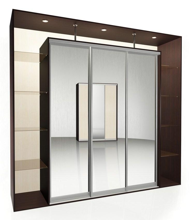 Шкаф-купе Мебелайн-8 радиусный шкаф купе мебелайн 7