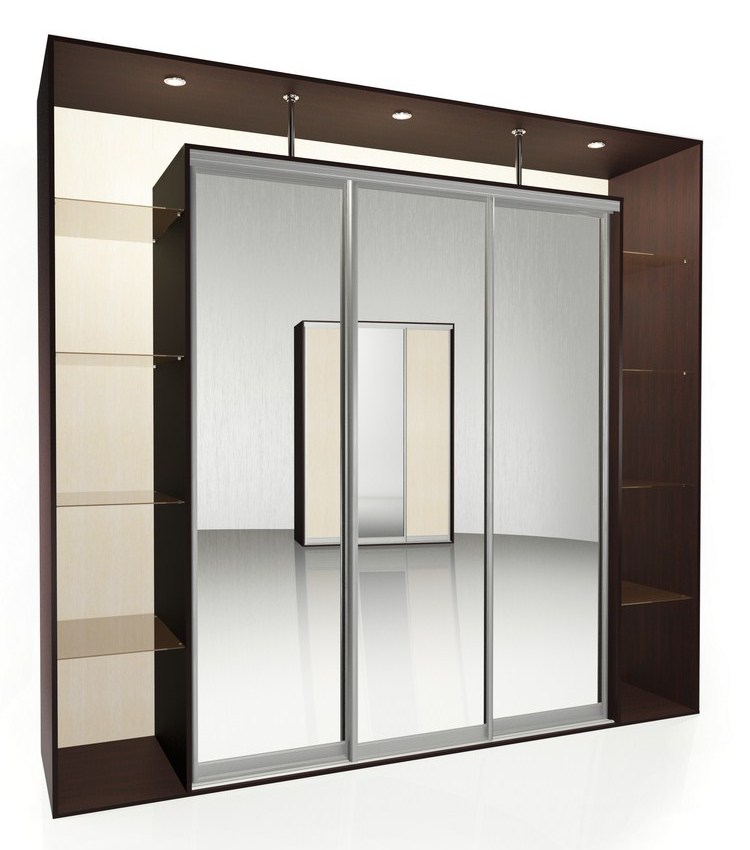Шкаф-купе Мебелайн-8 библиотека мебелайн 4