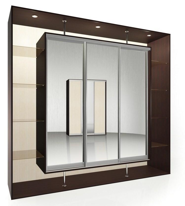 Шкаф-купе Мебелайн-9 радиусный шкаф купе мебелайн 7