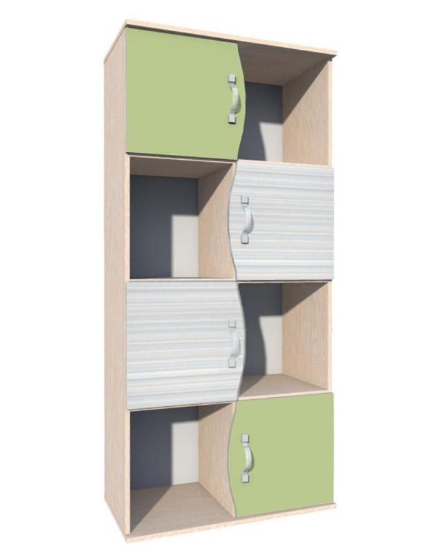 Шкаф для книг Модерн НМ 009.06