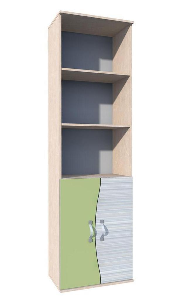 Шкаф для книг Модерн НМ 009.04 шкаф для книг астория hm 013 03