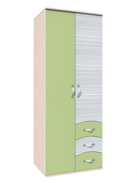 Шкаф комбинированный Модерн НМ 009.01 Сильва