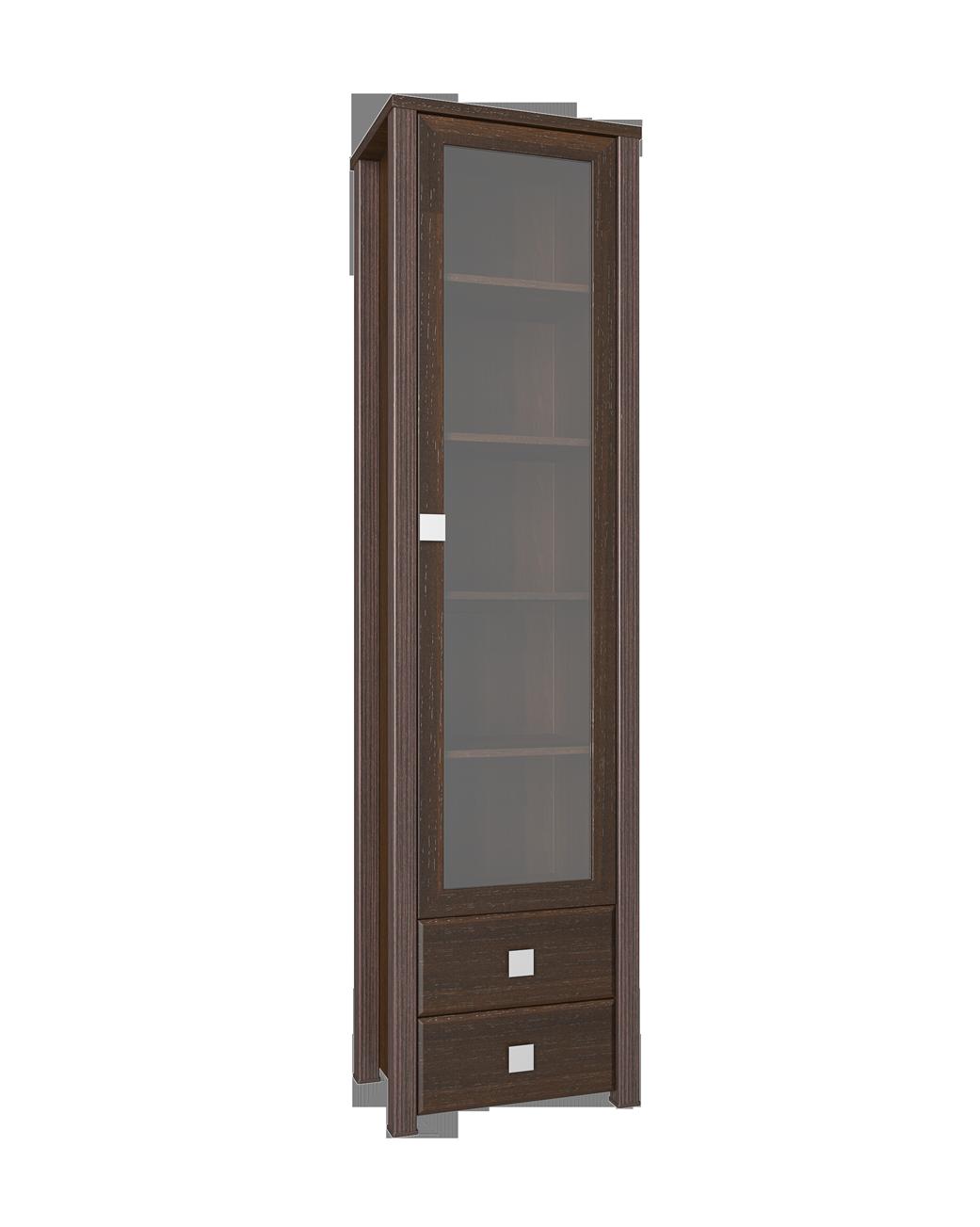 Шкаф-пенал со стеклом Изабель ИЗ-16