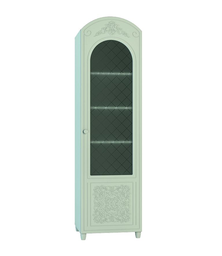 Шкаф-пенал со стеклом Соня СО-14К дверка каминная дтк со стеклом