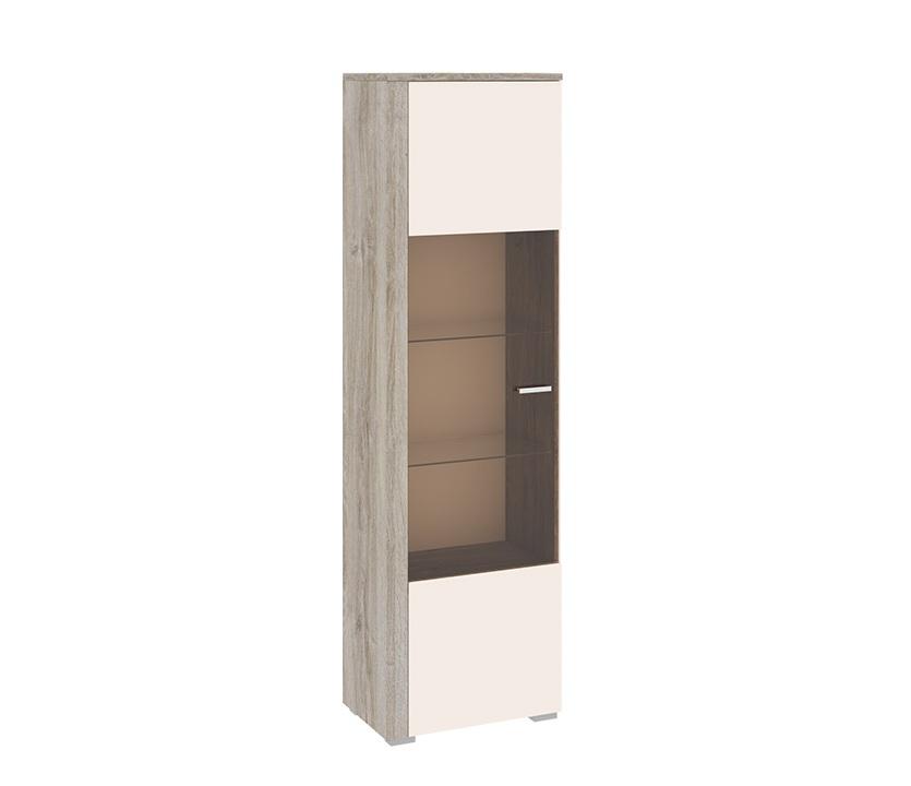 Шкаф комбинированный ЭйваСтеллажи и колонки<br>Размер: 594х2014х432<br><br>Артикул: ТД-195.03<br>Материалы: Каркас - ЛДСП, фасад - ЛДСП, эмаль, стекло<br>Полный размер (ДхВхГ): 594х2014х432<br>Вес товара (кг): 55<br>Цвет: Фон бежевый/Дуб верцаска<br>Примечание: Доставляется в разобранном виде<br>Изготовление и доставка: Склад до 5 дней, под заказ 2-3 недели<br>Условия доставки: Бесплатная по Москве до подъезда<br>Условие оплаты: Оплата наличными при получении товара<br>Доставка по МО (за пределами МКАД): 35 руб./км. Доставка за МКАД, за пределы трассы А-107 (ММК)<br>Доставка в пределах ТТК: +1000 руб. Доставка в центр Москвы осуществляется ночью, с 22.00 до 7.00 утра<br>Подъем на грузовом лифте: 4% от стоимости изделия<br>Подъем без лифта: 2% от стоимости изделия за 1 этаж<br>Сборка: 10% от стоимости изделия, но не менее 1000 руб. Выезд сборщика за МКАД+500 руб.<br>Гарантия: 18 месяцев<br>Производство: Россия<br>Производитель: ТриЯ