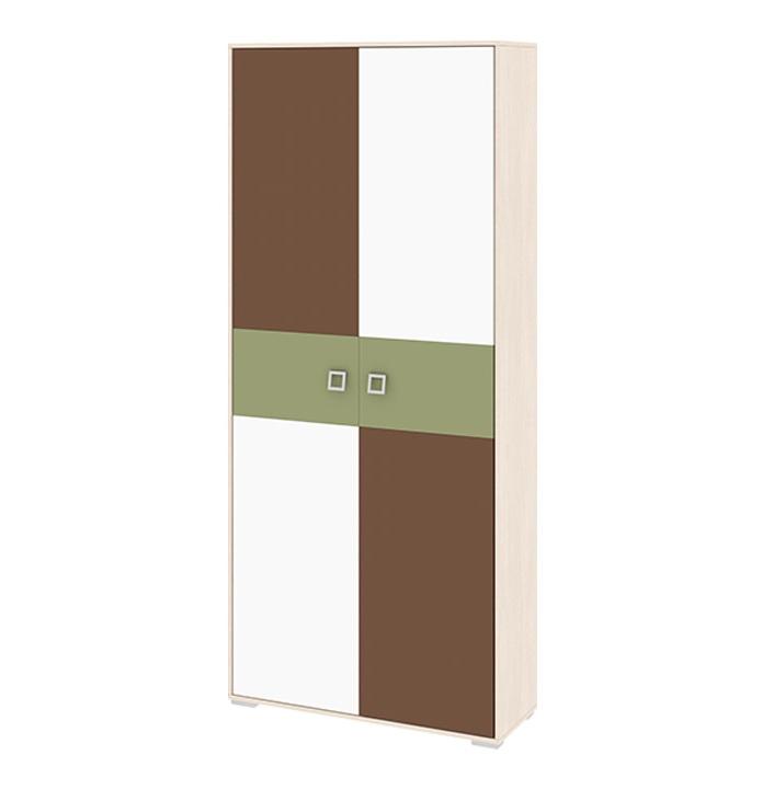 Шкаф для одежды с двумя дверями Тетрис