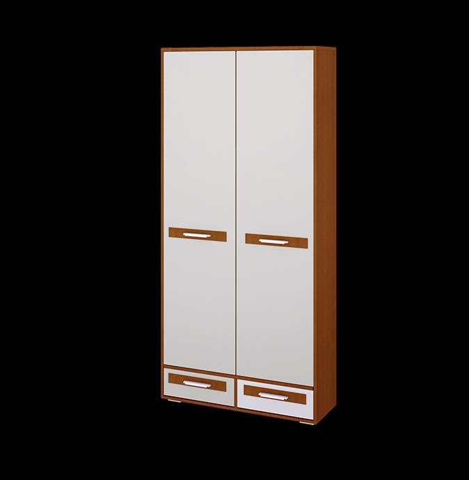 Шкаф 2-х дверный Орион шкаф с полками дсп и зеркальной дверью орион