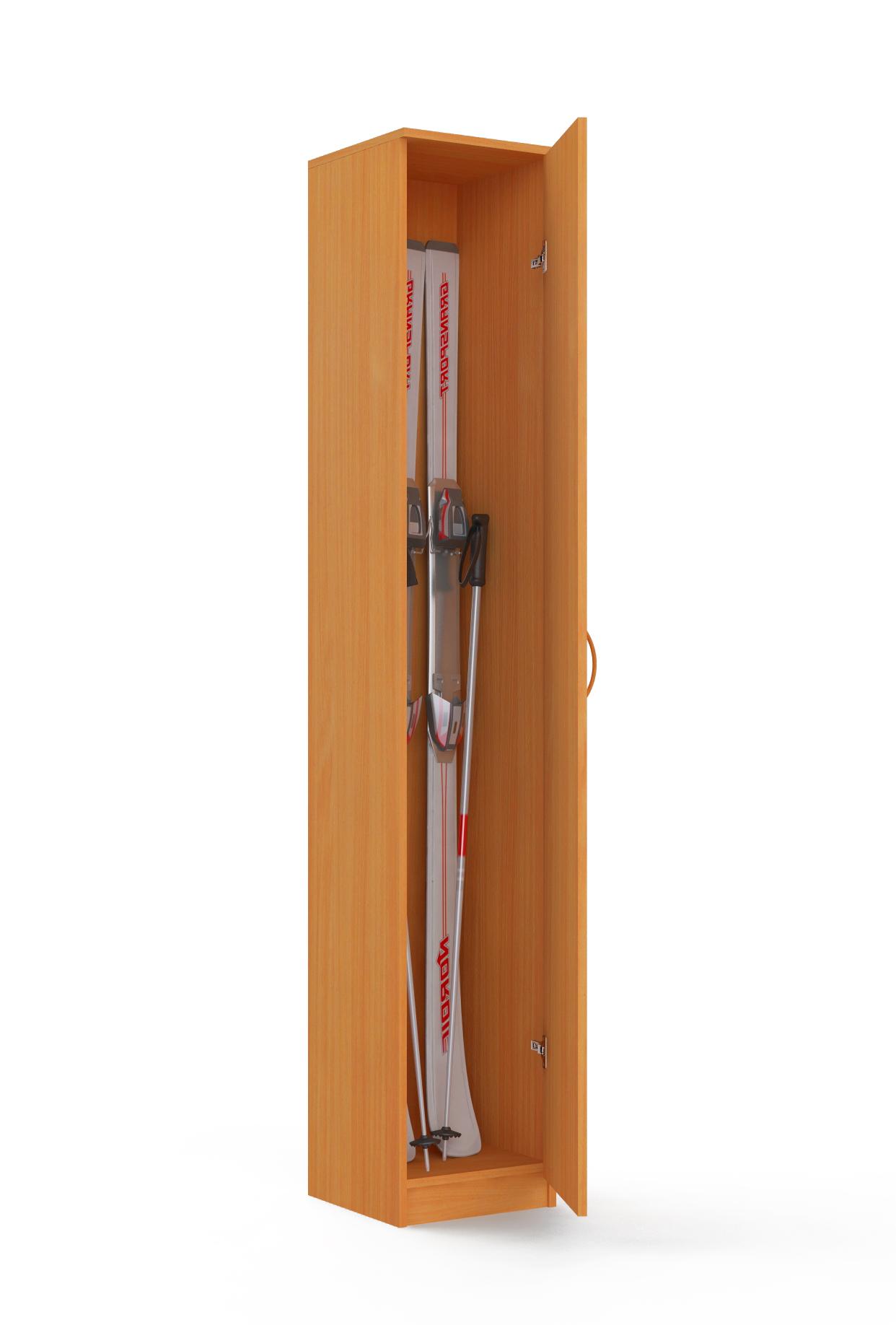 Шкаф для лыж высокий Ольга