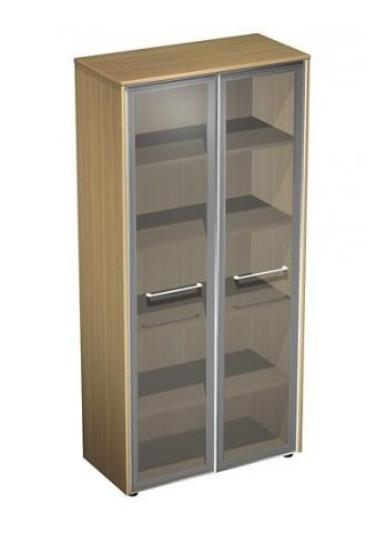 Шкаф для документов со стеклом 32