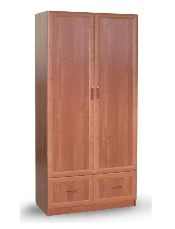 Шкаф для одежды и белья 1 в рамочном профиле