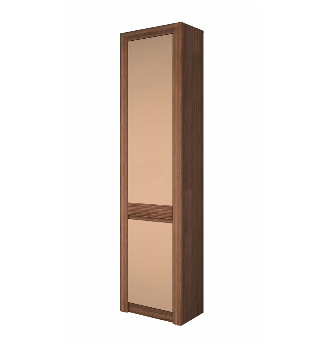 Шкаф для одежды Камелия-4 Ясень шимо/Мокко