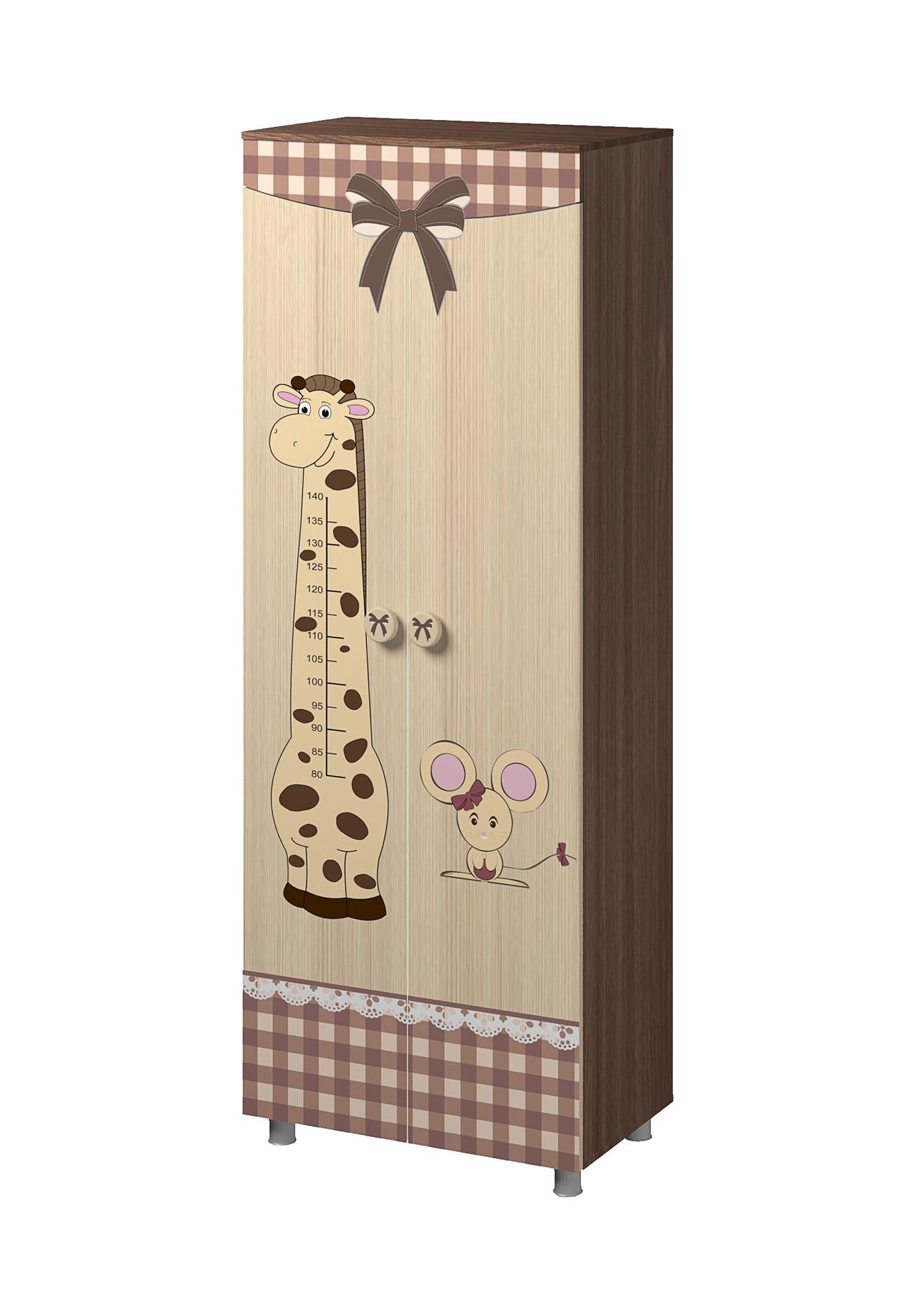 Шкаф двухстворчатый Алиса