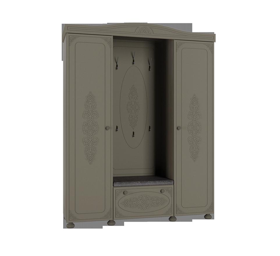 Шкаф комбинированный Ассоль Плюс АС-35 шкаф витрина компасс мебель ассоль плюс ас 01